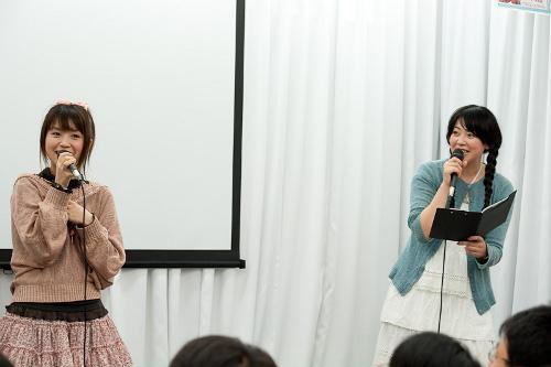 左)野水伊織さん 右)美名さん