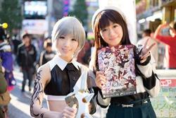 左)倉坂くるるさん、右)近藤唯さん