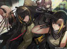 ▲様々な銃器が可愛い女の子に! お気に入りの戦術人形と一緒に戦場を駆け抜けよう!